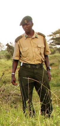 John Pameri, Lewa head of Security